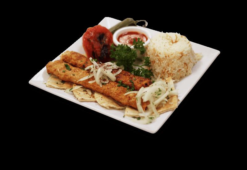 Chicken adana kabob maza lv turkish mediterranean for 1453 ottoman mediterranean cuisine