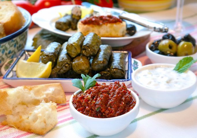 Turkish appetizers