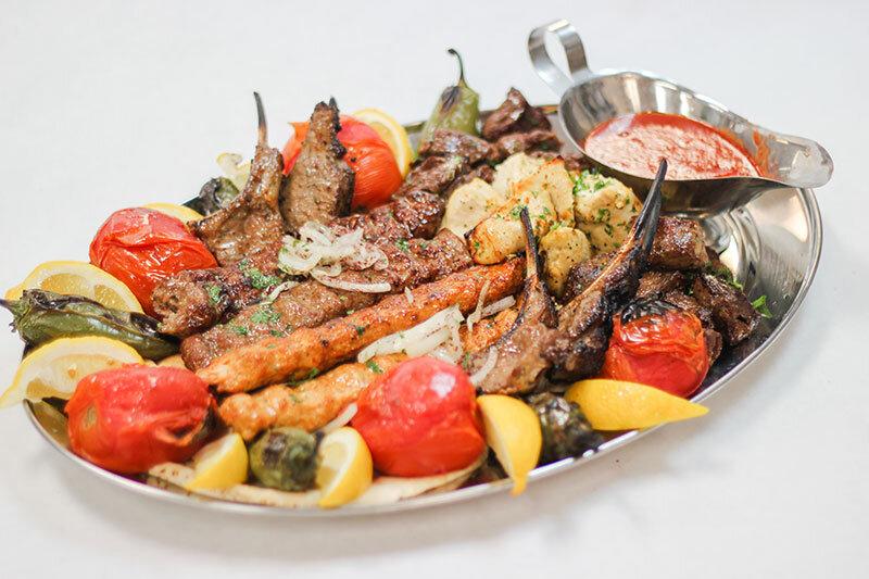 Assorted Kebab Platter
