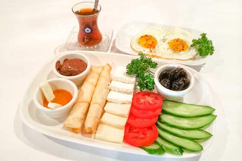 Turkish breakfeast